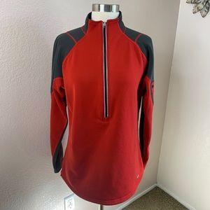 REI Half Zip Athleisure Fleece Lined Jacket Large